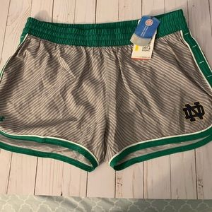 Notre dame Under Armour Running Shorts